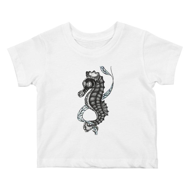 Dockweiler Beach Kids Baby T-Shirt by serpenthes's Artist Shop