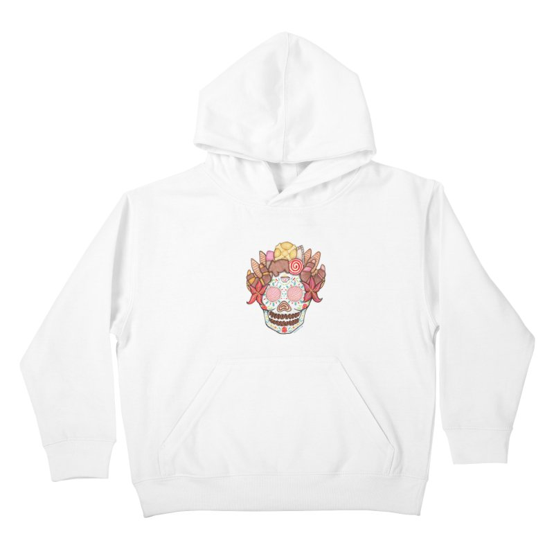 Ofrenda Pan Dulce Kids Pullover Hoody by serpenthes's Artist Shop