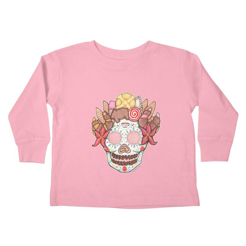 Ofrenda Pan Dulce Kids Toddler Longsleeve T-Shirt by serpenthes's Artist Shop