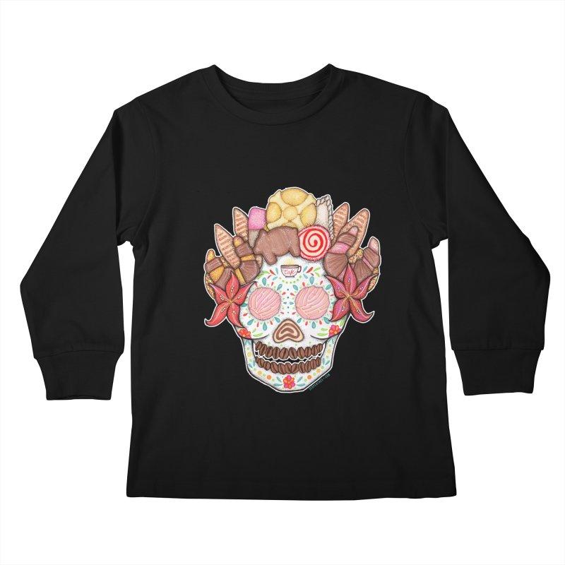 Ofrenda Pan Dulce Kids Longsleeve T-Shirt by serpenthes's Artist Shop