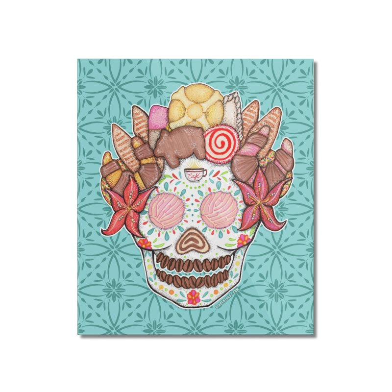 Ofrenda Pan Dulce Home Mounted Acrylic Print by serpenthes's Artist Shop