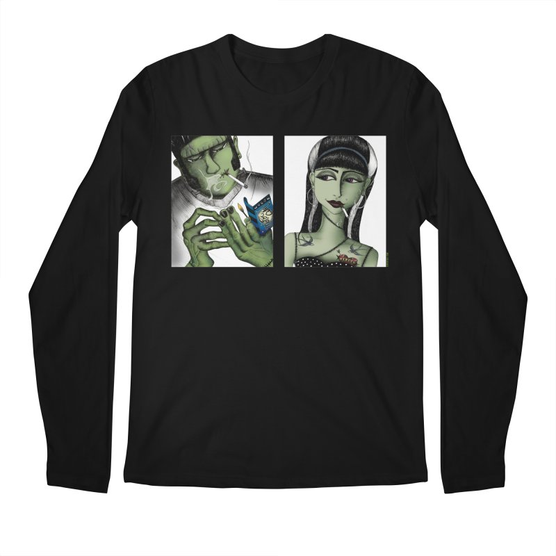 Frank and His Old Lady Men's Longsleeve T-Shirt by serpenthes's Artist Shop