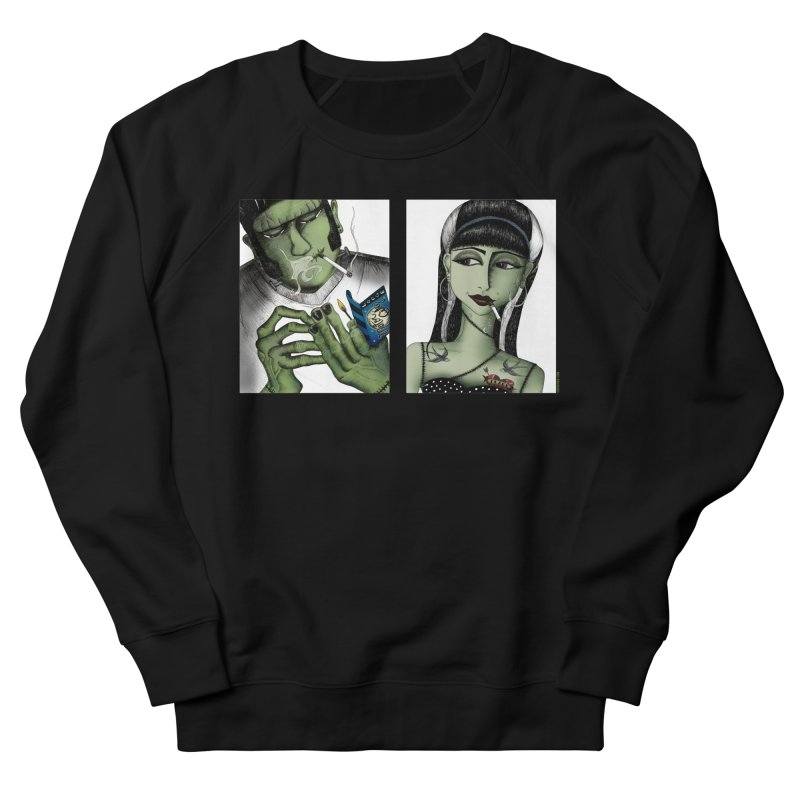 Frank and His Old Lady Women's Sweatshirt by serpenthes's Artist Shop