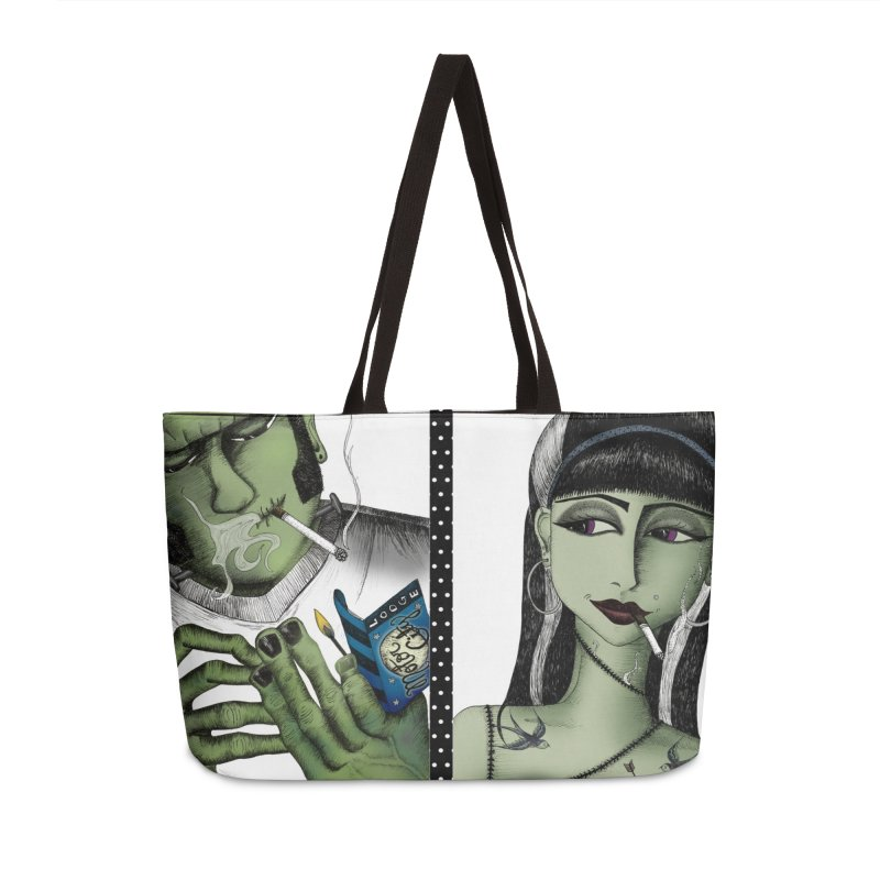 Frank and His Old Lady Accessories Bag by serpenthes's Artist Shop
