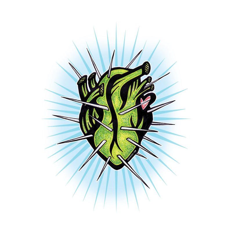 Corazon de Nopal - BLANC by serpenthes's Artist Shop