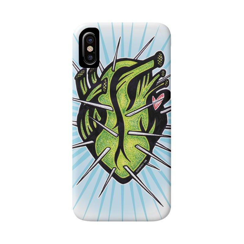 Corazon de Nopal - BLANC Accessories Phone Case by serpenthes's Artist Shop