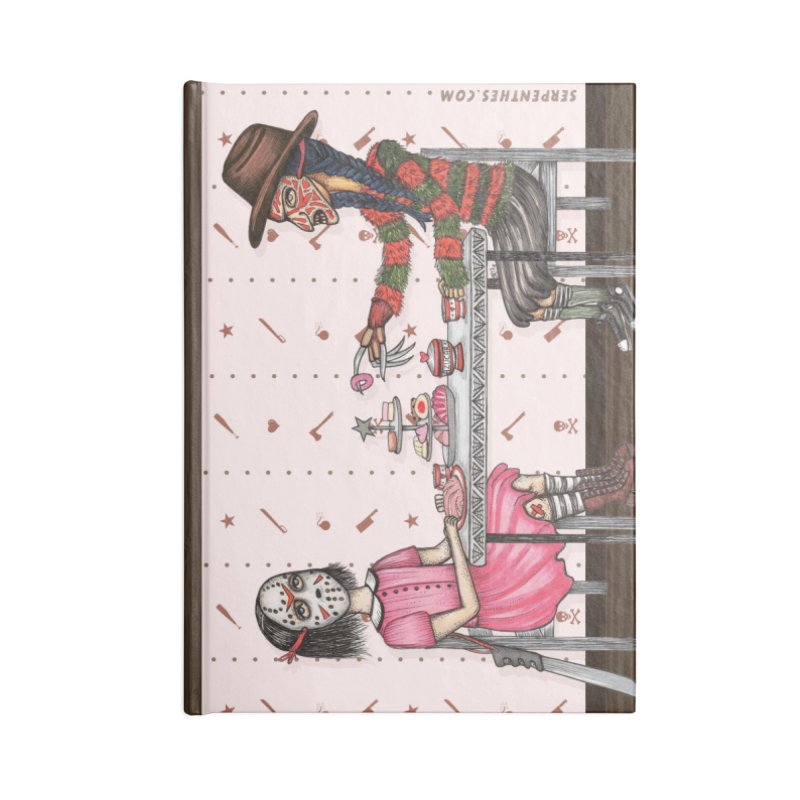 J's Tea Party on Elm Street Accessories Notebook by serpenthes's Artist Shop