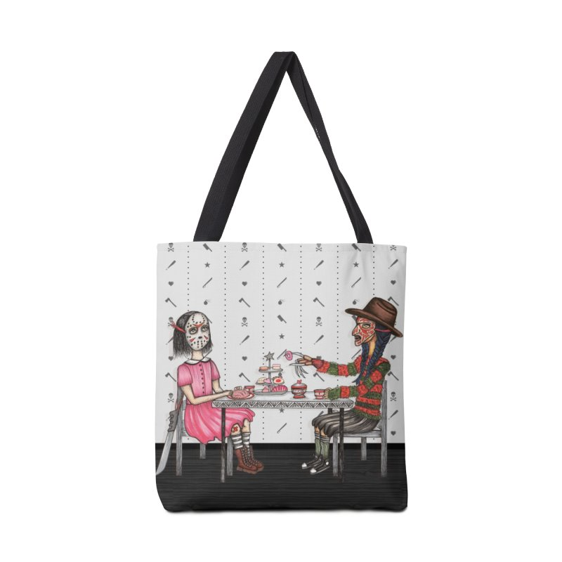 J's Tea Party on Elm Street Accessories Bag by serpenthes's Artist Shop