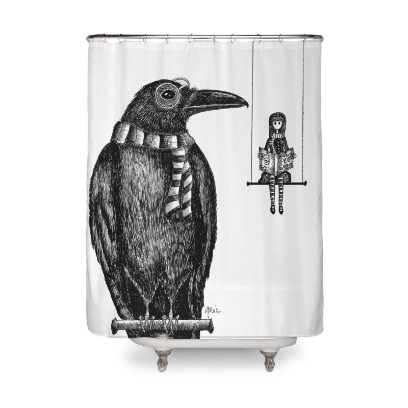 The Poe Aficionados Club Home Shower Curtain by serpenthes's Artist Shop