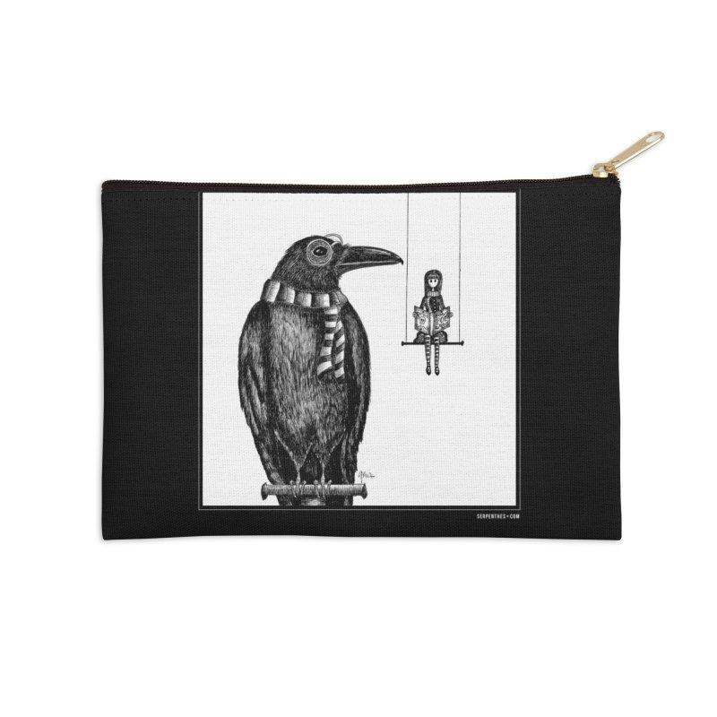 The Poe Aficionados Club Accessories Zip Pouch by serpenthes's Artist Shop
