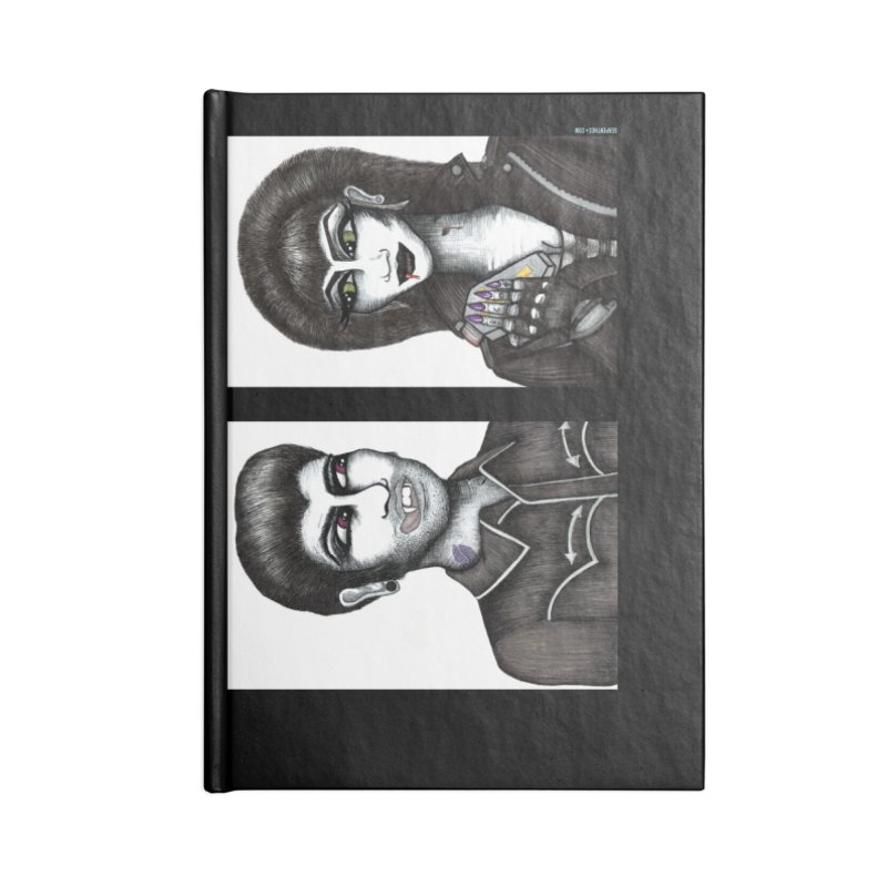 Drac and V Accessories Notebook by serpenthes's Artist Shop