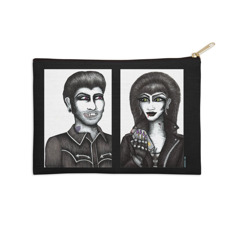 Drac and V Accessories Zip Pouch by serpenthes's Artist Shop