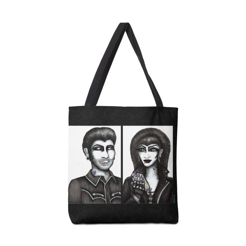 Drac and V Accessories Bag by serpenthes's Artist Shop