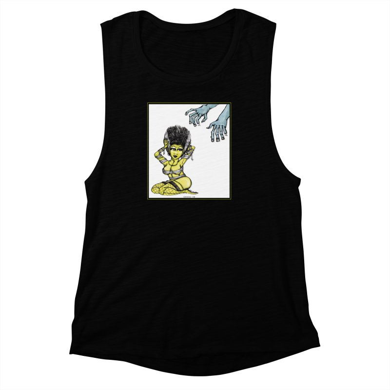 Made For Each Other Women's Muscle Tank by serpenthes's Artist Shop