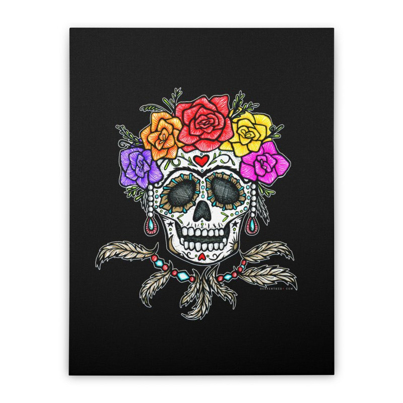 La Fridocha Home Stretched Canvas by serpenthes's Artist Shop