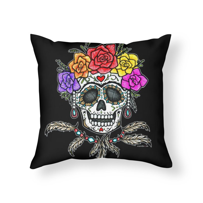 La Fridocha Home Throw Pillow by serpenthes's Artist Shop