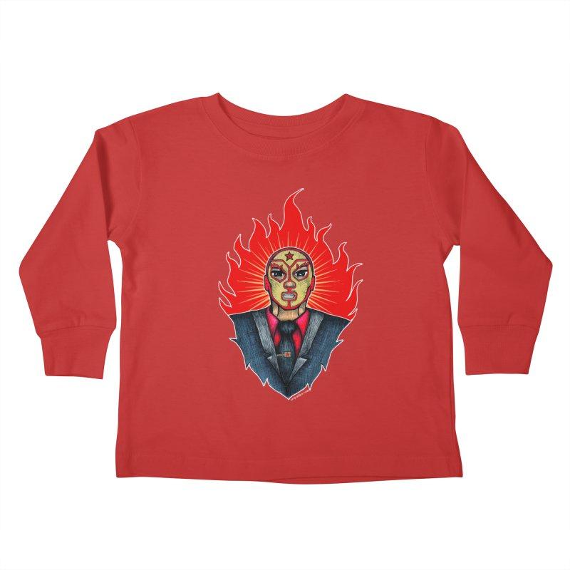 El Mero Mero Kids Toddler Longsleeve T-Shirt by serpenthes's Artist Shop