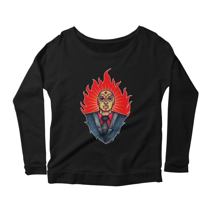El Mero Mero Women's Longsleeve Scoopneck  by serpenthes's Artist Shop