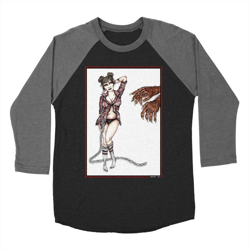 She's Such A Scream Men's Baseball Triblend T-Shirt by serpenthes's Artist Shop
