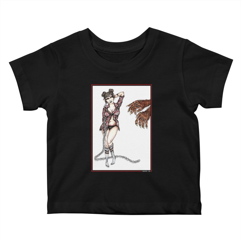 She's Such A Scream Kids Baby T-Shirt by serpenthes's Artist Shop
