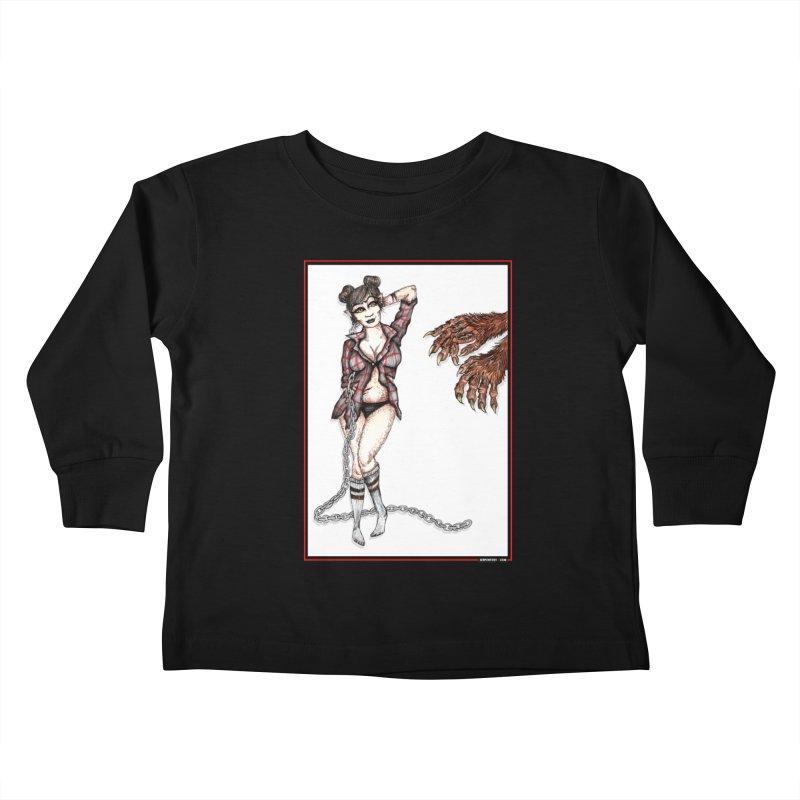 She's Such A Scream Kids Toddler Longsleeve T-Shirt by serpenthes's Artist Shop