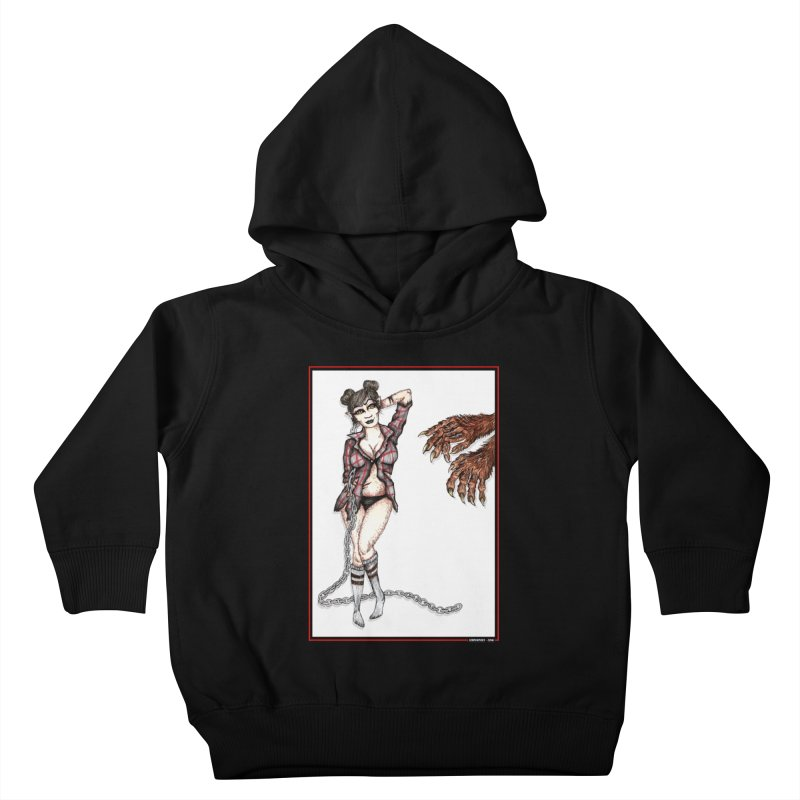 She's Such A Scream Kids Toddler Pullover Hoody by serpenthes's Artist Shop