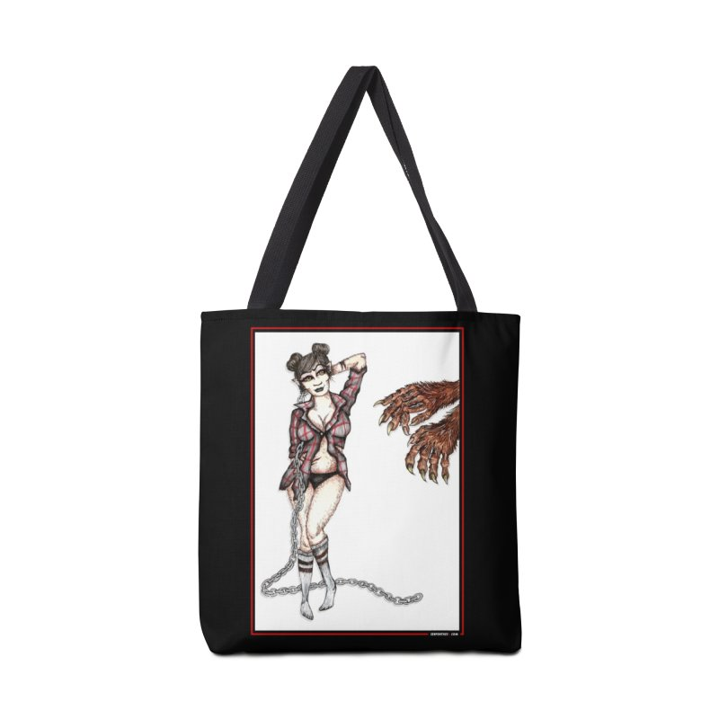 She's Such A Scream Accessories Bag by serpenthes's Artist Shop