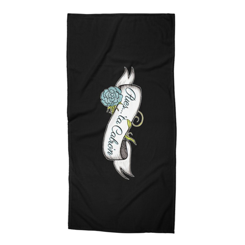 Pues...'ta Cabron Accessories Beach Towel by serpenthes's Artist Shop