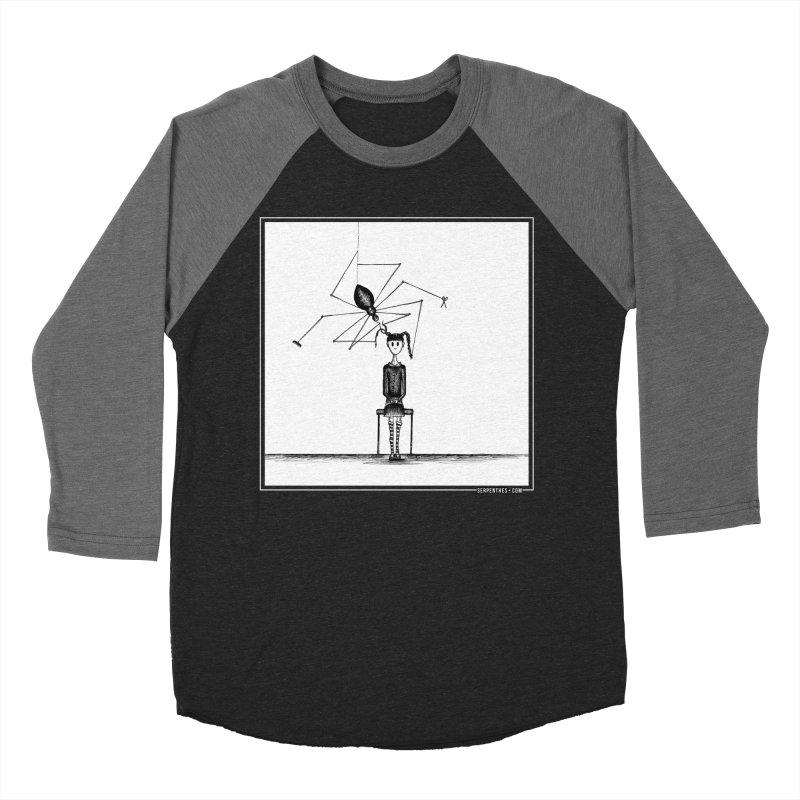 Miss Spider's Salon Women's Baseball Triblend T-Shirt by serpenthes's Artist Shop