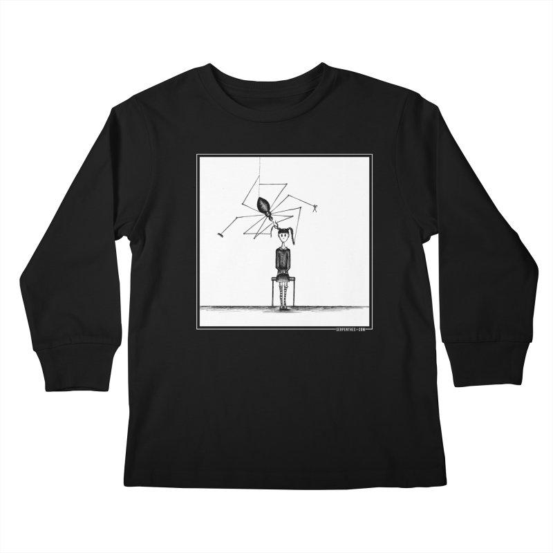 Miss Spider's Salon Kids Longsleeve T-Shirt by serpenthes's Artist Shop