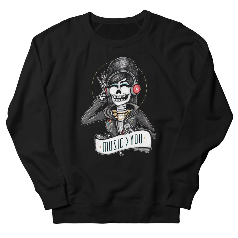 Music > You Men's Sweatshirt by serpenthes's Artist Shop
