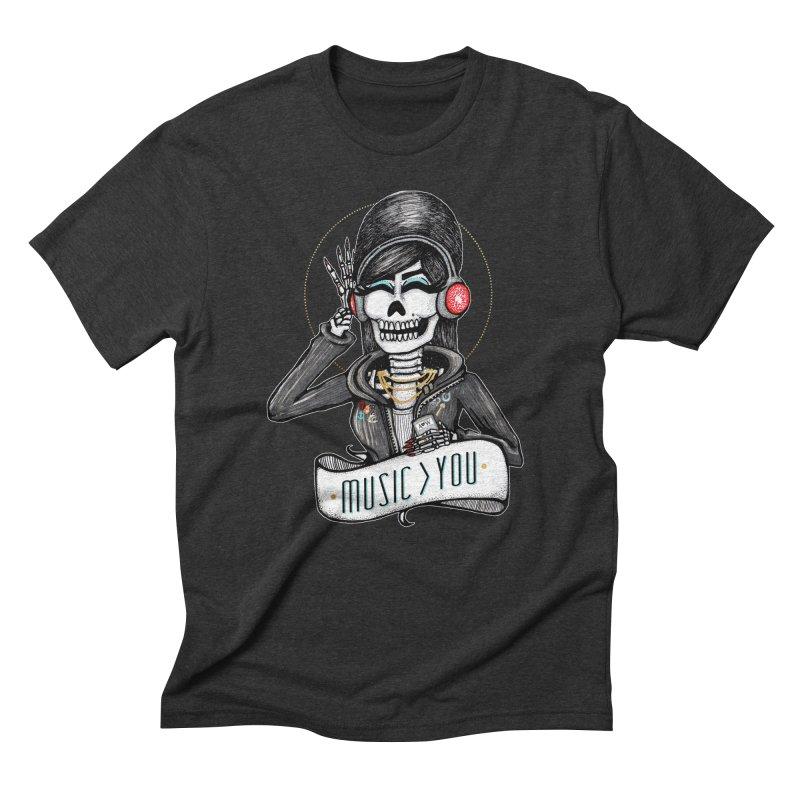 Music > You Men's Triblend T-Shirt by serpenthes's Artist Shop