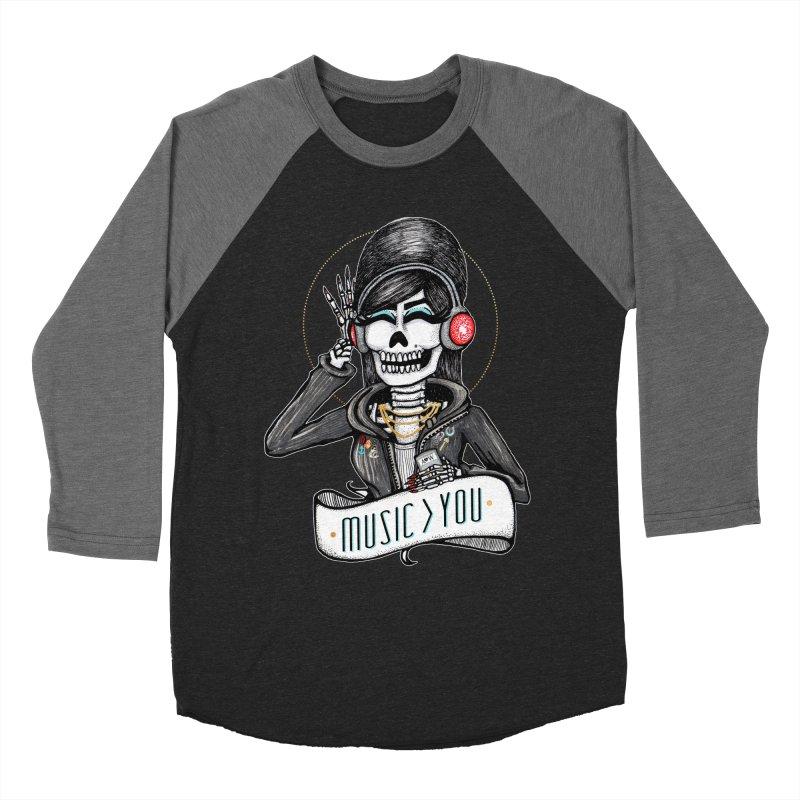 Music > You Men's Baseball Triblend T-Shirt by serpenthes's Artist Shop