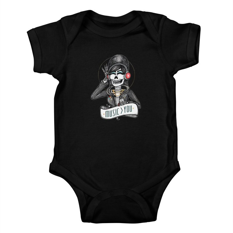 Music > You Kids Baby Bodysuit by serpenthes's Artist Shop