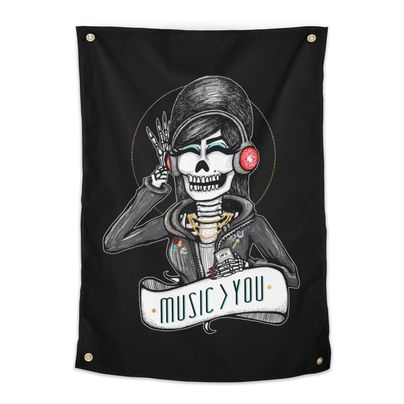 Music > You Home Tapestry by serpenthes's Artist Shop