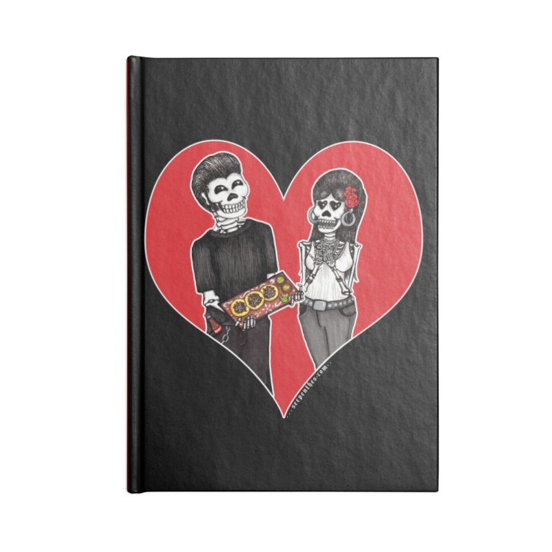 Taquero Mucho Accessories Lined Journal Notebook by serpenthes's Artist Shop