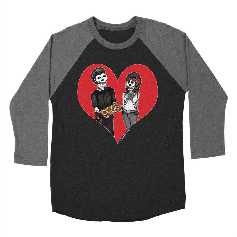 Taquero Mucho Men's Baseball Triblend T-Shirt by serpenthes's Artist Shop