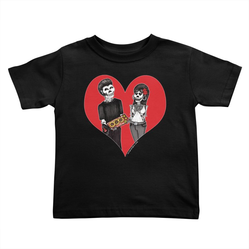 Taquero Mucho Kids Toddler T-Shirt by serpenthes's Artist Shop
