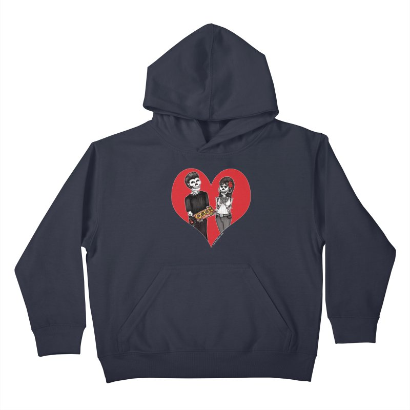 Taquero Mucho Kids Pullover Hoody by serpenthes's Artist Shop