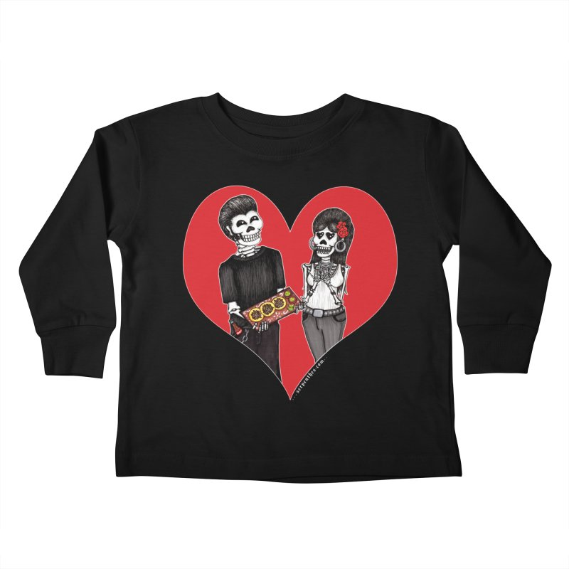 Taquero Mucho Kids Toddler Longsleeve T-Shirt by serpenthes's Artist Shop