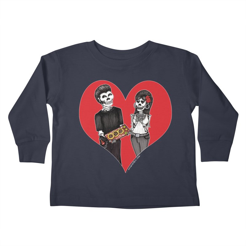 Taquero Mucho Kids Toddler Longsleeve T-Shirt by serpenthes's Artist Shop
