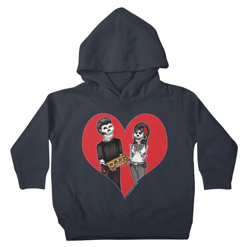Taquero Mucho Kids Toddler Pullover Hoody by serpenthes's Artist Shop
