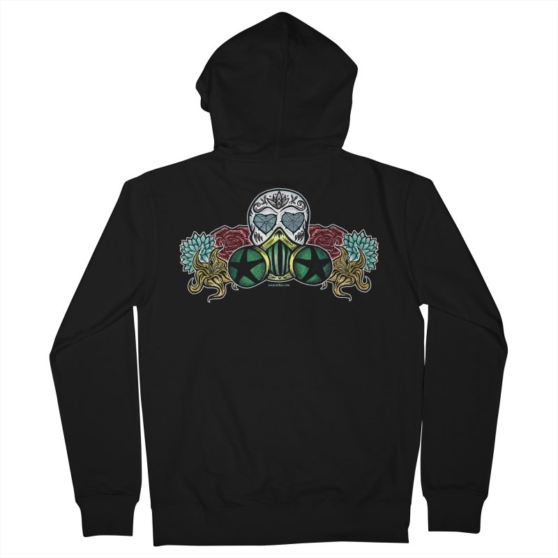 Toxic Women's French Terry Zip-Up Hoody by serpenthes's Artist Shop