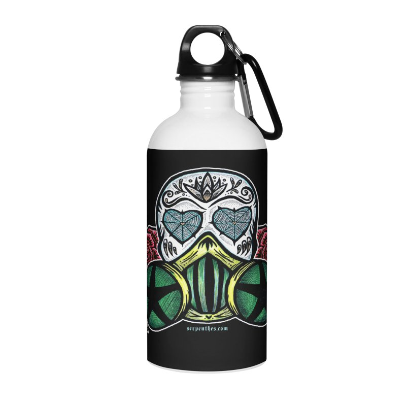 Toxic Accessories Water Bottle by serpenthes's Artist Shop