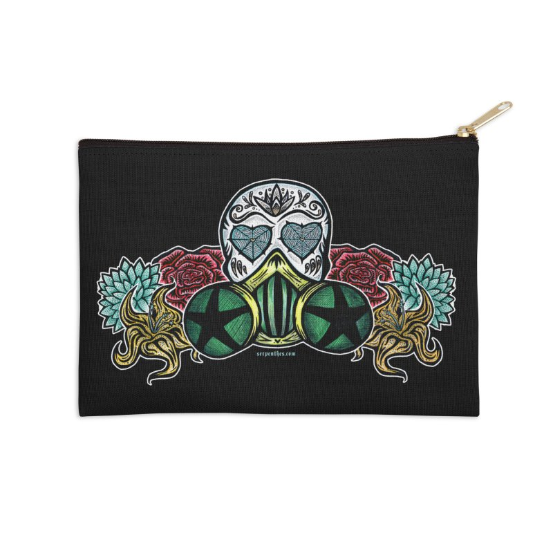 Toxic Accessories Zip Pouch by serpenthes's Artist Shop