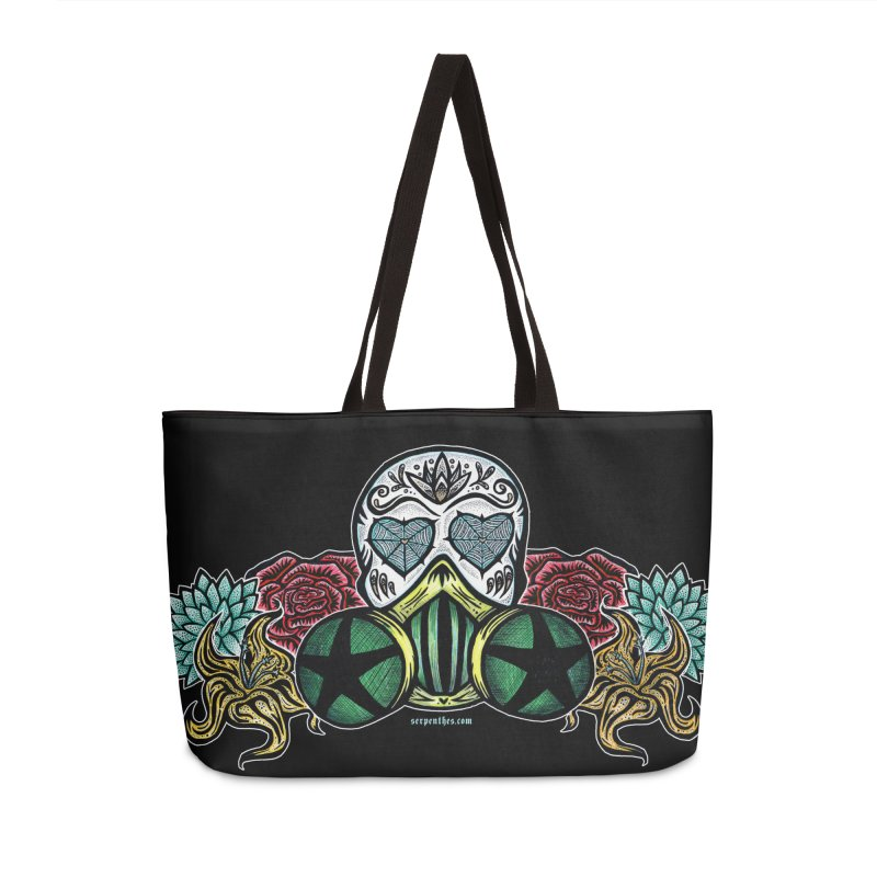 Toxic Accessories Weekender Bag Bag by serpenthes's Artist Shop