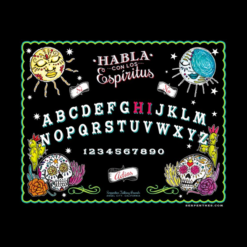 Calavera Ouija None  by serpenthes's Artist Shop
