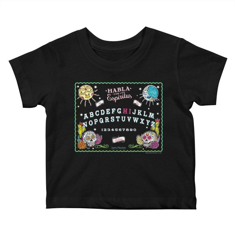 Calavera Ouija Kids Baby T-Shirt by serpenthes's Artist Shop
