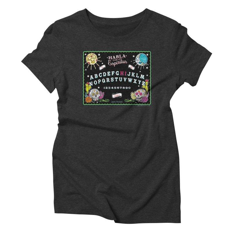 Calavera Ouija Women's Triblend T-Shirt by serpenthes's Artist Shop