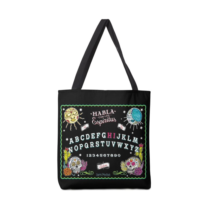 Calavera Ouija Accessories Tote Bag Bag by serpenthes's Artist Shop